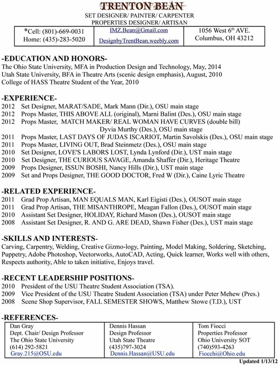 epub carpenters union resume